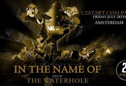 U2 Start meet up Party in U2 weekend in Amsterdam!
