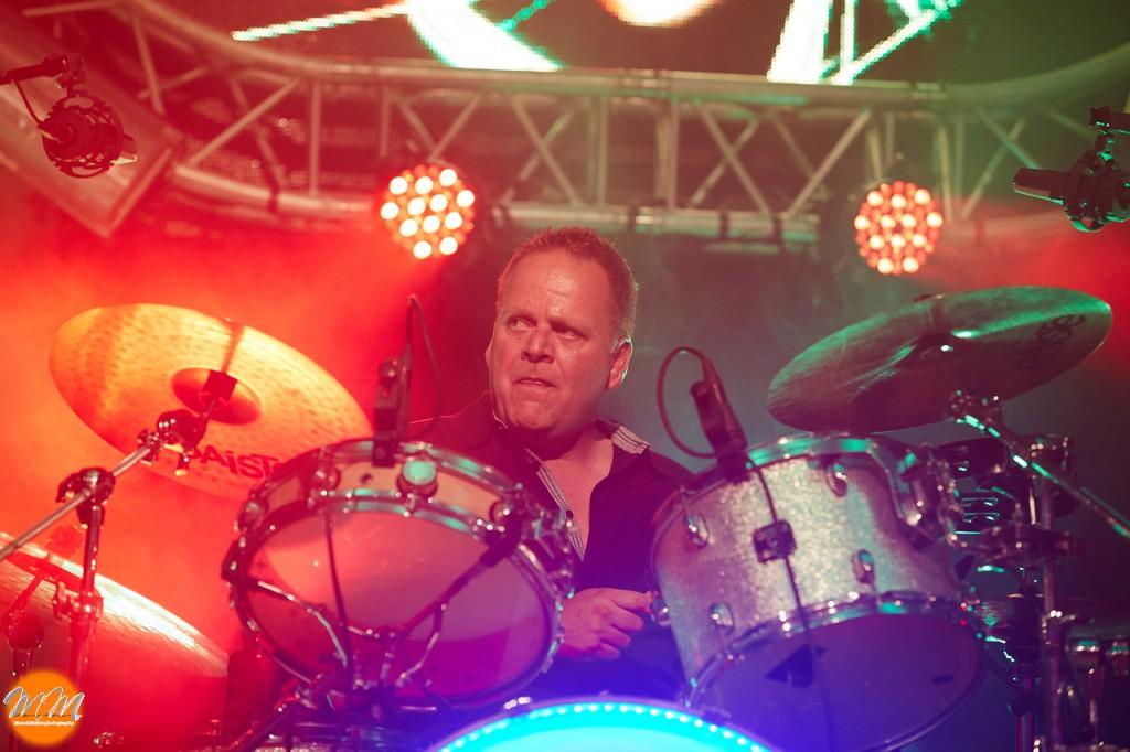 Door beroerte getroffen drummer Brian ontslagen uit Rijndam