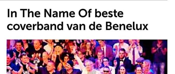 In the Name of beste coverband van de benelux